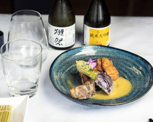 Lamb Katsu and Sake500X749